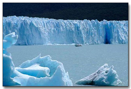 Glaciers National Park of South America
